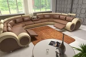 Couch U Form Xxl : jvmoebel ledersofa couch sofa ecksofa modell berlin iv u form ~ Bigdaddyawards.com Haus und Dekorationen