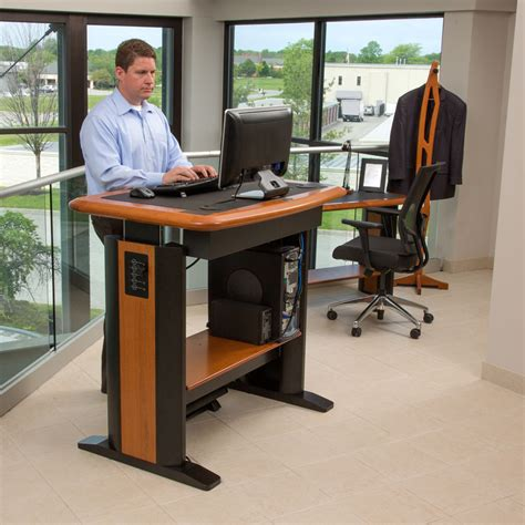 standing computer desk style convert to a standing