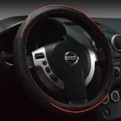 Genuine Leather Steering Wheel Cover Sport Car Steering