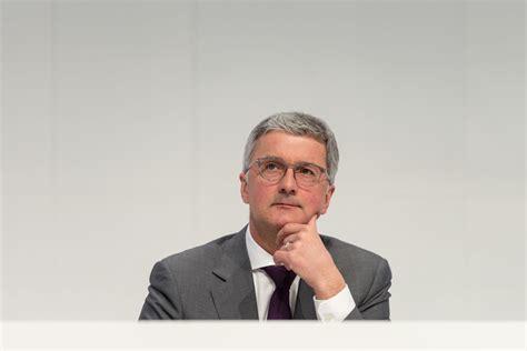 Im Audi Chef Rupert Stadler by Audi Chef Rupert Stadler Audi Strategie 2025 Audi News