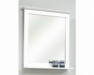 Badspiegel 80 X 60 : holzspiegel pelipal jasper mit ablage 68x60 cm wei bei hornbach kaufen ~ Bigdaddyawards.com Haus und Dekorationen