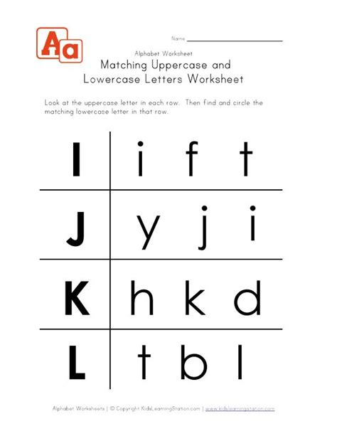 17 Best Images About Alphabet Worksheet On Pinterest  Free Printables, Kos And Lower Case Letters