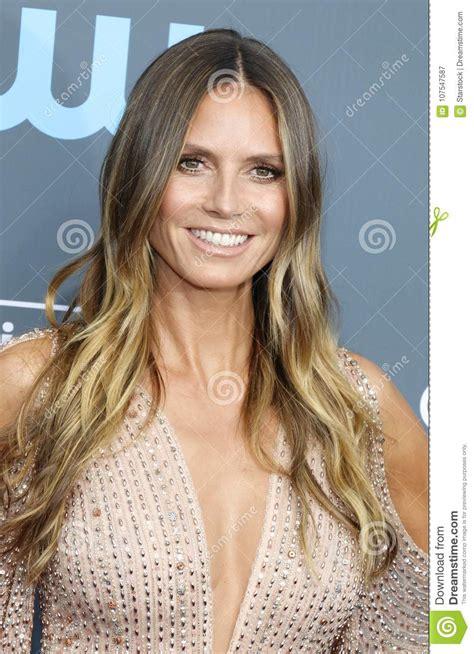 Heidi Klum Editorial Photography Image Celebrities