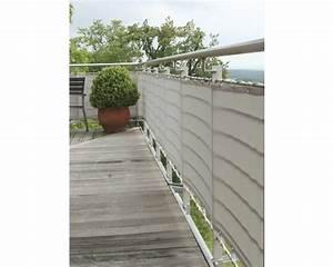 Balkonverkleidung 65 X 300 Cm Silbergrau Bei HORNBACH Kaufen
