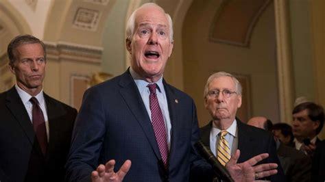 meetings kavanaugh cancelling largely respond democrats cohen mum senate republicans while politics john