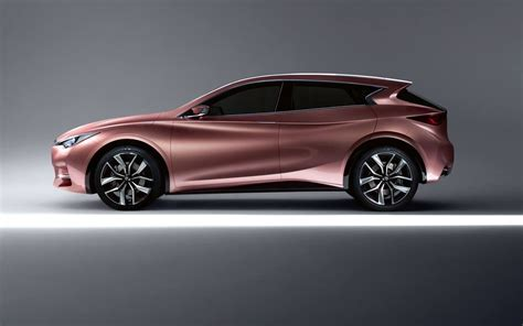 rose gold cars infiniti q30 concept the rose gold color is gorg