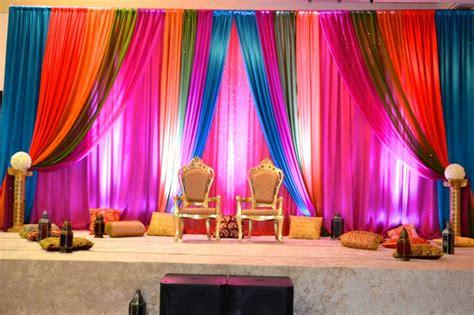 backdrop  indian sangeet night bollywood theme photo