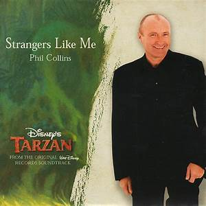 Phil Collins Strangers Like Me Cd At Discogs