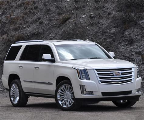 2018 Cadillac Escalade Features Lots Of Chrome And Luxury