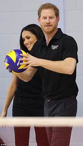 Prince harry and meghan markle attend team trials for for I told her meet me in the bathroom