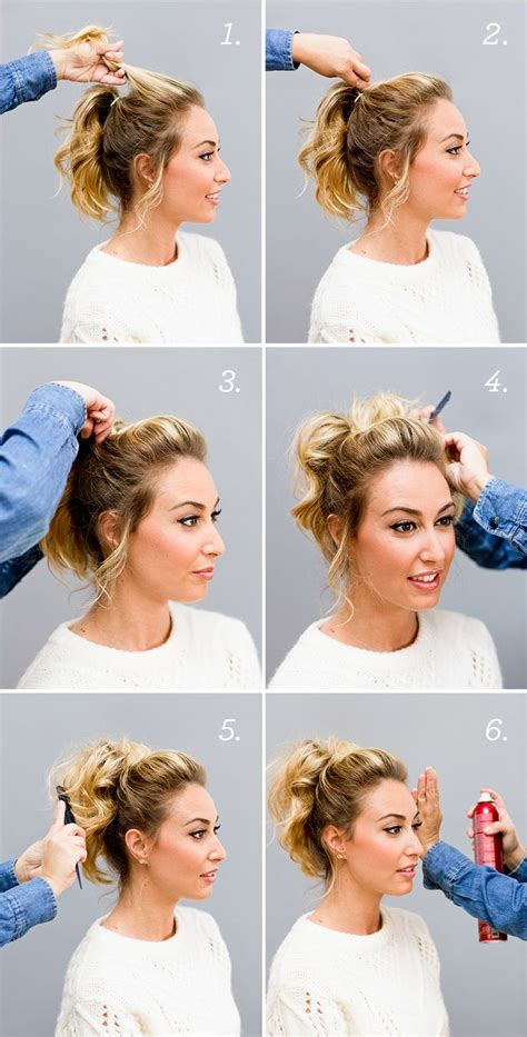 Top Bouffant & Curly Ponytail Makeup Mania
