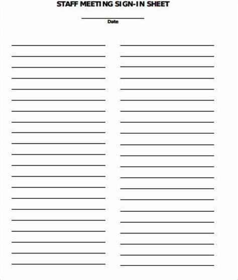 8+ Sample Meeting Signin Sheets  Sample Templates. Printable Fake Divorce Papers Image. Resume Cover Letter Example For High School Template. Restaurant Seating Chart Template. Letter To Insurance Company For Claim Template. Self Reflection Essay Sample Template. Microsoft Word Free Brochure Template. Free Weekly Schedule Template. Business Announcements Templates
