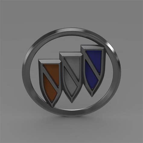 New Buick Logo by Buick New Logo 3d Model Max Obj 3ds Fbx C4d Lwo Lw
