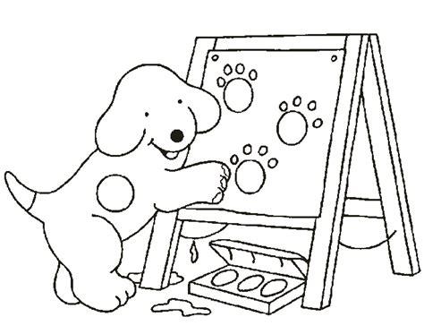 Kleurplaat Dribbel by Dribbel Kinder Kleurplaten School