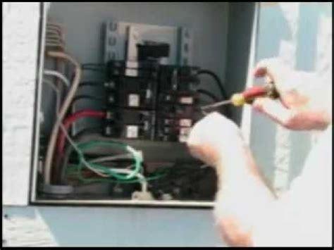 installing  hot tub gfi breaker youtube