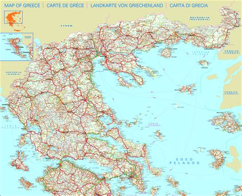maps  greece map library maps   world