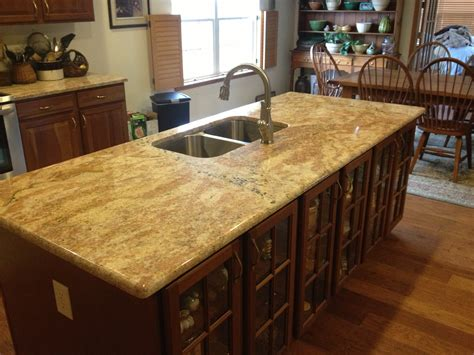 kitchen island countertop granite america golden island granite america