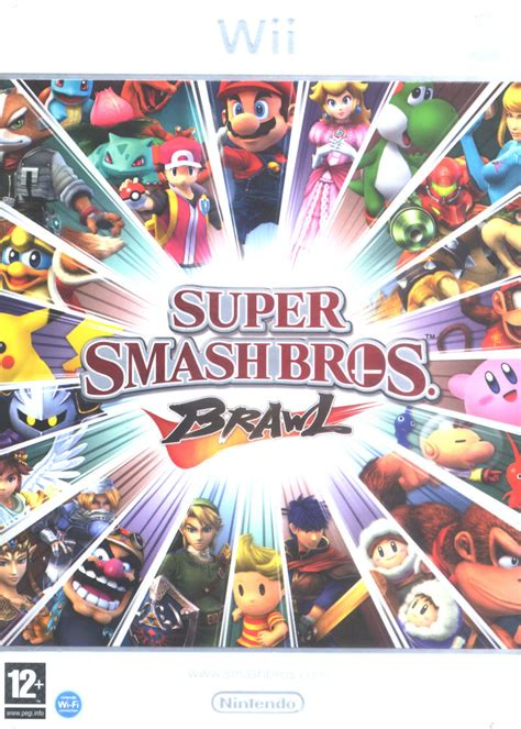 Super Smash Bros Brawl 2008 Wii Box Cover Art Mobygames