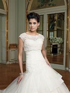 two piece wedding dress uk with illusion beaded lace With dresses with jackets for weddings