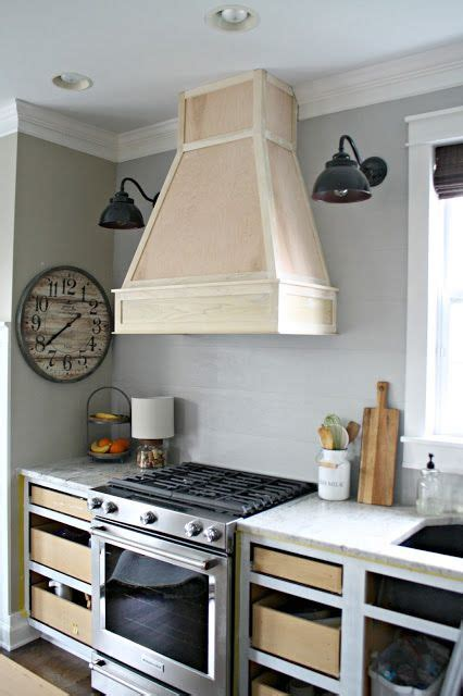 Kitchen Counter Vents by A Diy Ish Wood Vent Diy Kitchen Hoods