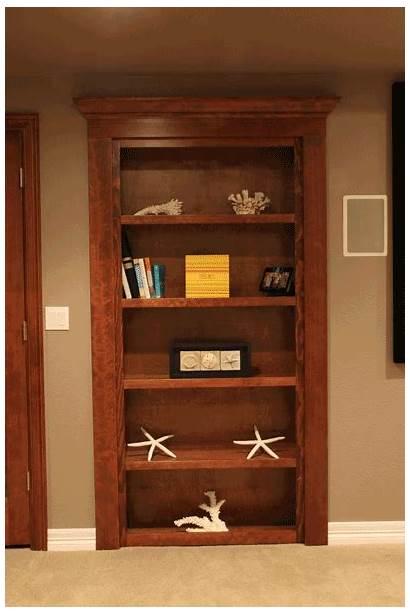 Bookshelf Doors Basement Craftsman Designing