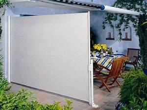 windschutz fur terrasse und balkon wahlen 20 ideen und tipps With garten planen mit seitenmarkise windschutz und sichtschutz für terrasse und balkon