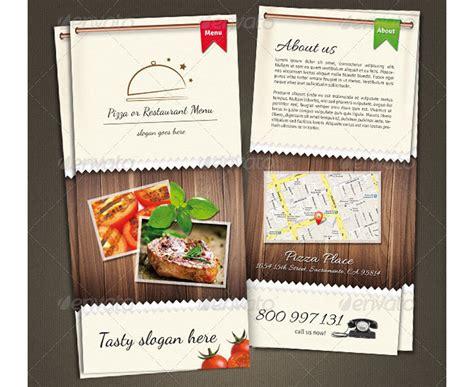 wickelfalz restaurant flyer menue