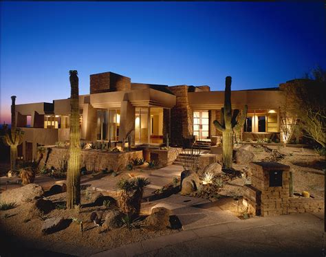 Azarchitecture Architecture In Scottsdale by World Of Architecture Modern Desert House For Luxury