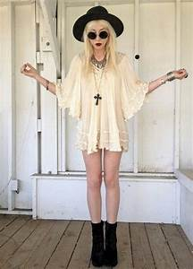 Soft grunge - cream dress | Mina klu00e4der | Pinterest | Hippies Cream and Cream dresses