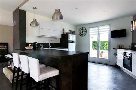 cuisine ouverte design cuisine ouverte sur séjour emilie peyrille ep design