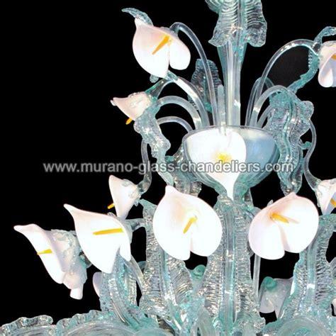 quot calle bianche quot lustre en cristal de murano murano glass