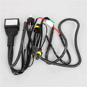 55w Car Hid Bi Lo Bulbs Controller Fuse Relay Wire Harness  W2