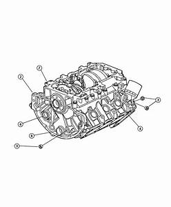 2008 Dodge Avenger Block  Short  Engine  Torque