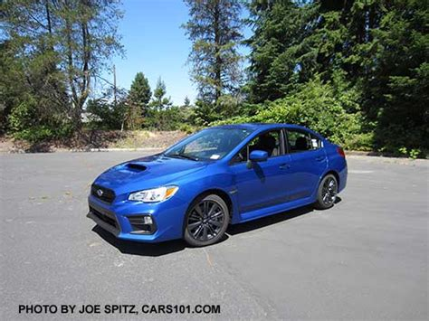 Rally Blue Wrx by 2018 Subaru Wrx Exterior Photo Page