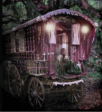 Roulotte Gitane Belle Gifs Gypsy Amerindiens Centerblog