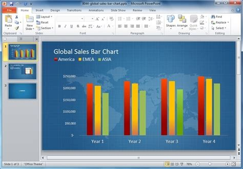 Business Intelligence Powerpoint Template