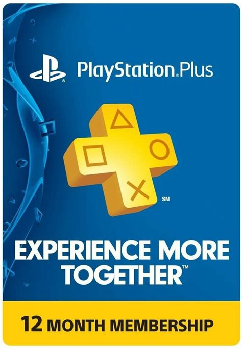 With playstation plus subscription you will be able to get the most out of your ps4 experience. PlayStation PLUS Membership CARD - Subscription 1 Year 12 Month - PSN PS3 PS4   eBay