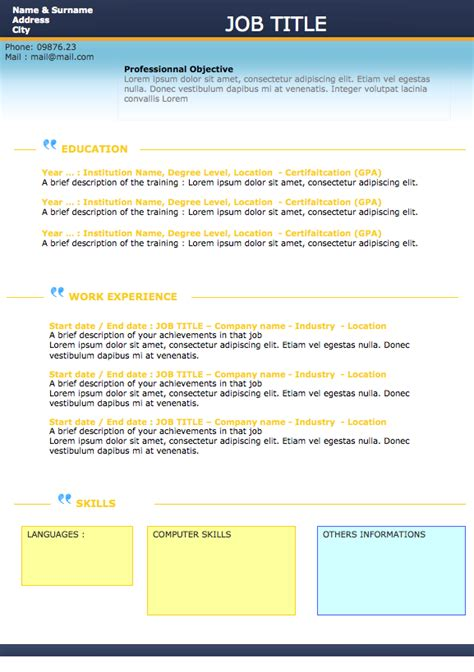 Original Resume Ideas by Original Resume Exles Copywritinglyrics X Fc2