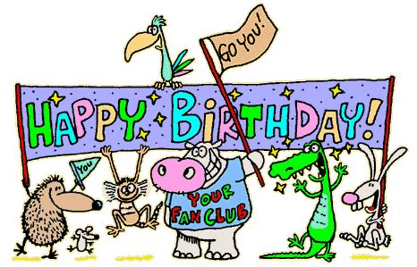 Happy Birthday Animated Clip Happy Birthday Pictures That Move Animated Cake And