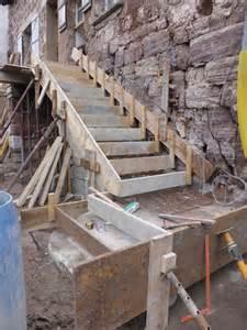 Coffrer Un Escalier Extérieur by Jour 22 Coulage De L Escalier Ext 233 Rieur Notre Projet De