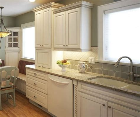A Bone White Undermount Composite Sink Complements The