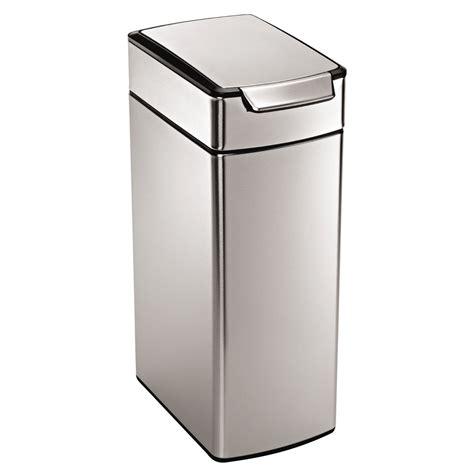 Simplehuman Slim Touchbar Can 11 Gallon Trash Can