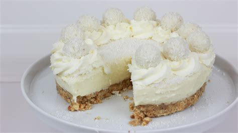 philadelphia kuchen raffaello torte ohne backen no bake raffaello cheesecake
