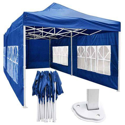 waterproof pop  canopy tent  sides preorder  display outlet