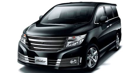 Elgrand 4k Wallpapers by Nissan Elgrand E52 Rider Black Line C C A R S 4k Pins