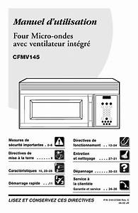 Frigidaire Fmv145ks1 Pdf Manuals For Download