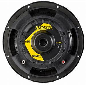 Kicker Car Speakers : 2 kicker 10 10c104 600w car subwoofers comp subs sealed ~ Jslefanu.com Haus und Dekorationen