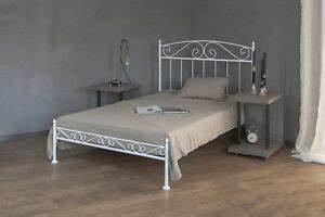 Metallbett Ikea Weiß : metallbett weiss ecru oder schwarz 140x200cm aus ~ Watch28wear.com Haus und Dekorationen