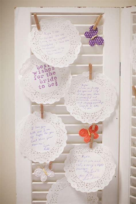 Bridal Shower Guest Book Ideas - a rustic bridal shower inspiration trueblu bridesmaid