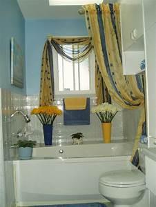 Rideau De Salle De Bain : rideau petite fenetre salle de bain maison design ~ Premium-room.com Idées de Décoration